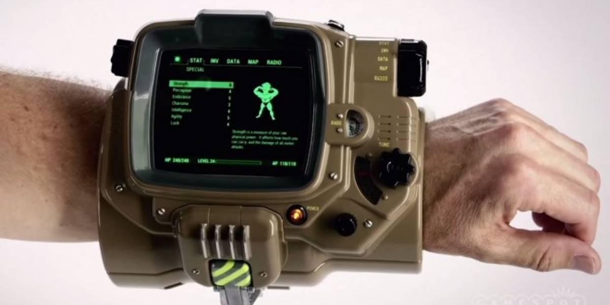 Pip-Boy, el Apple Watch de Fallout que funcionará con tu teléfono #E32015