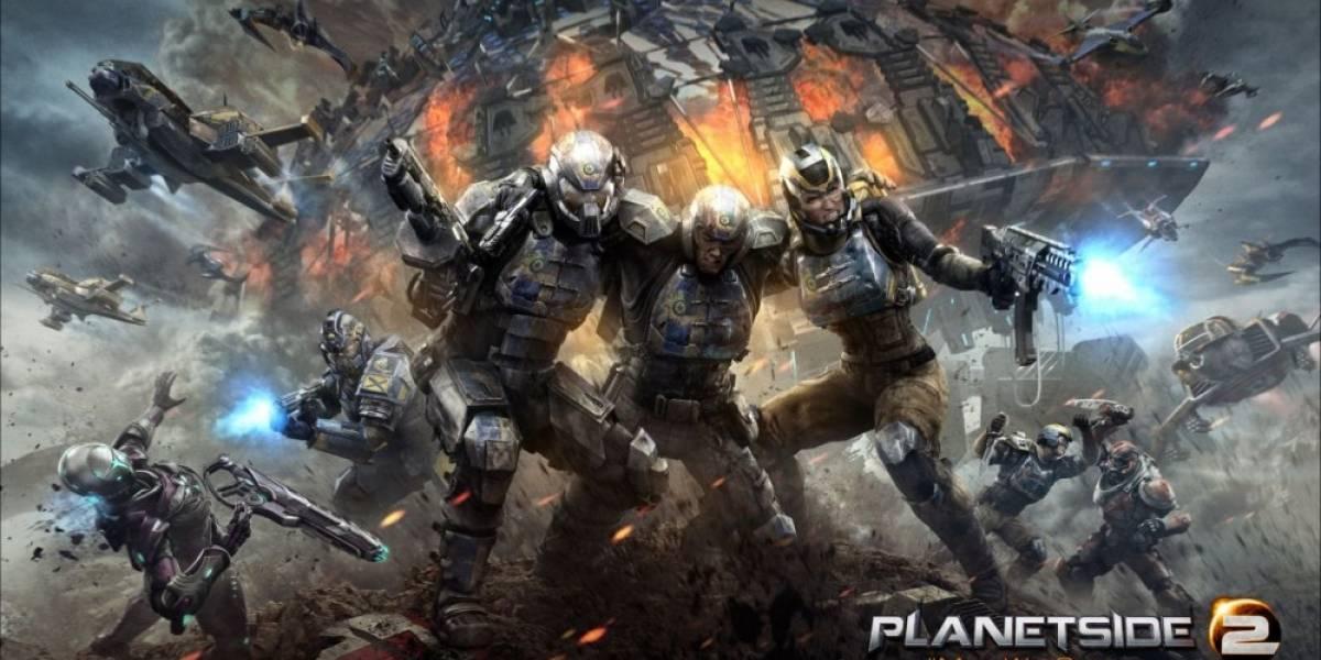 Ya hay fecha para la beta cerrada de PlanetSide en PS4