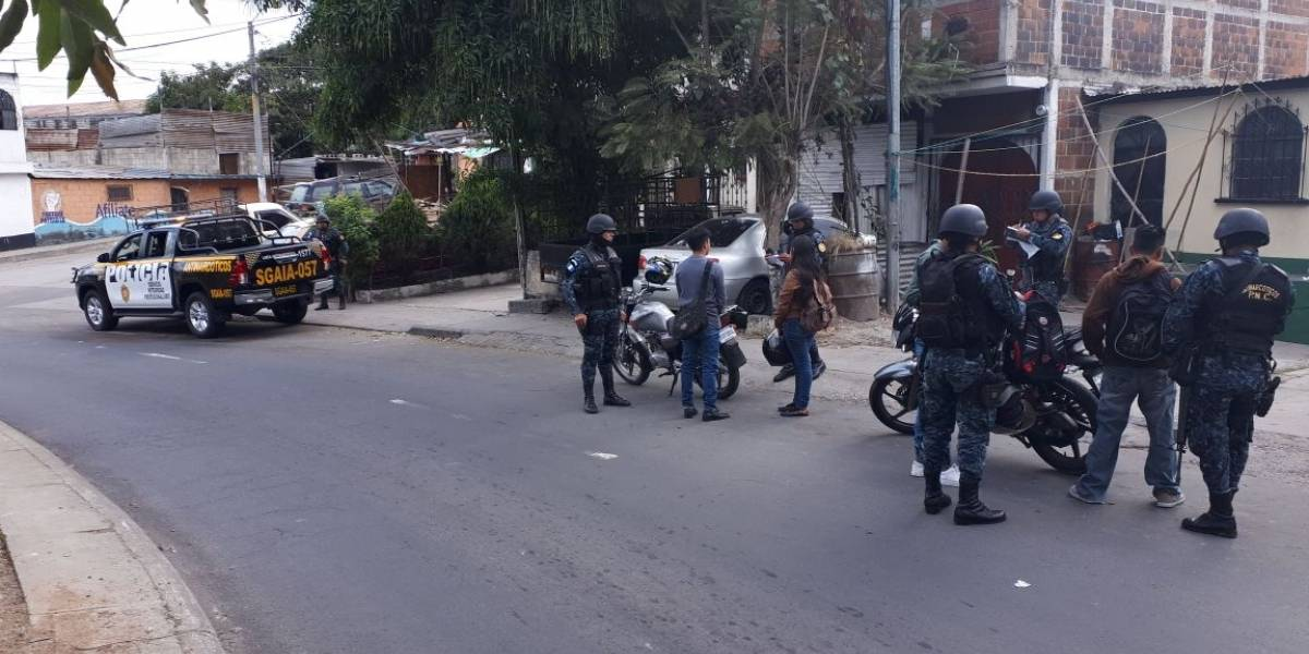 "PNC aplica el ""plan Fortaleza"" para prevenir delitos"