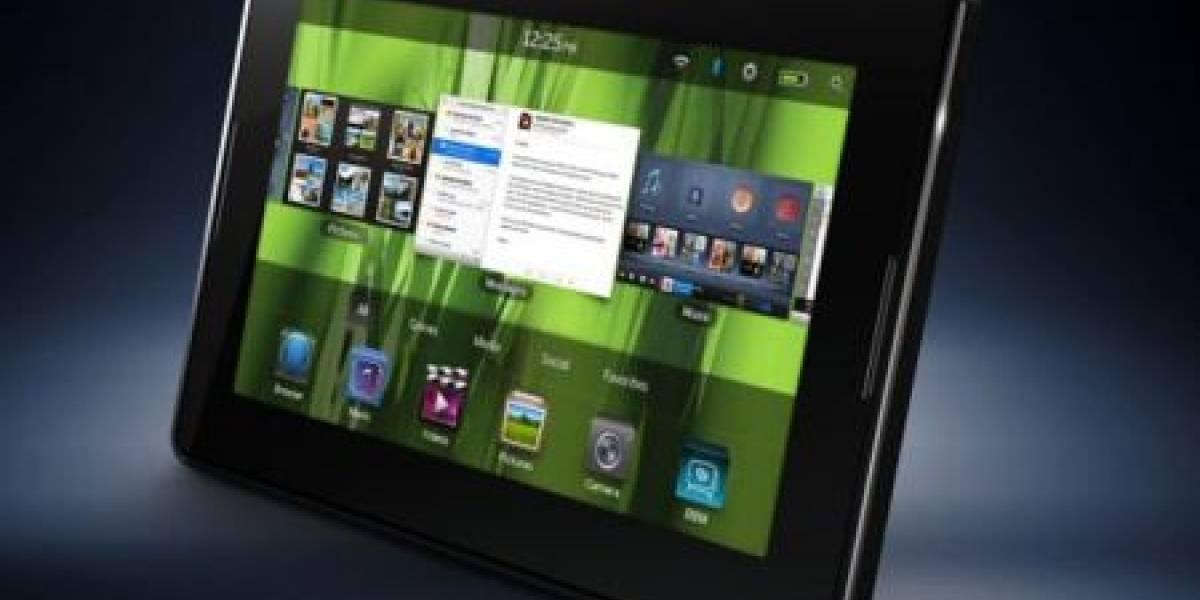 PlayBook alcanza las 250.000 unidades vendidas en su primer mes