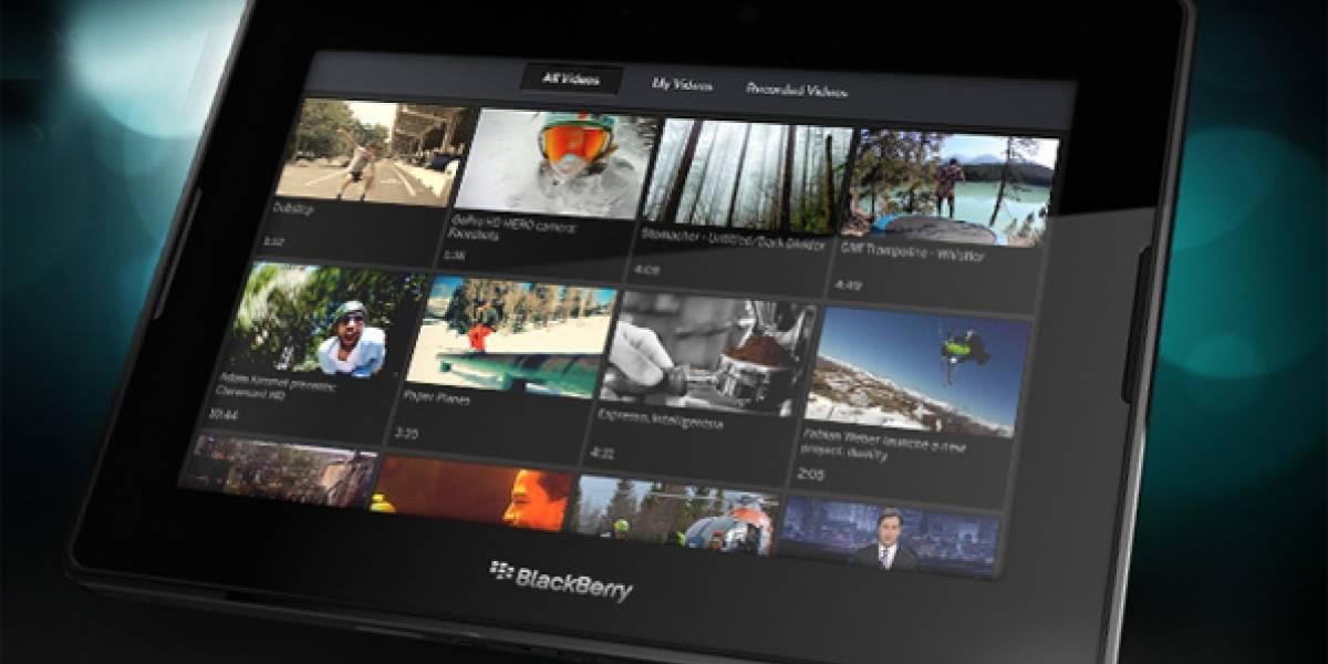 RIM alza la voz: La batería de Playbook durará tanto como la del iPad