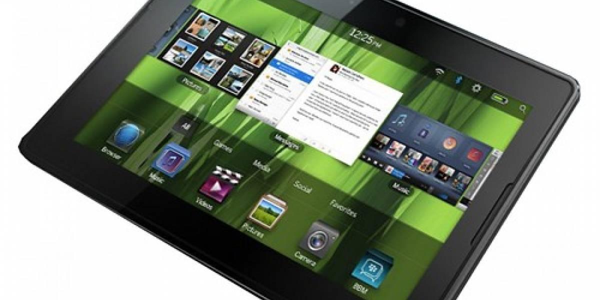 CES 2011: BlackBerry Playbook comenzará a venderse a mediados de año en EE.UU.