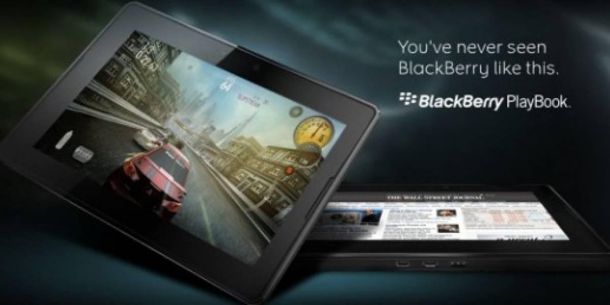 BlackBerry PlayBook tendrá versión de 64 GB y una batería de gran capacidad