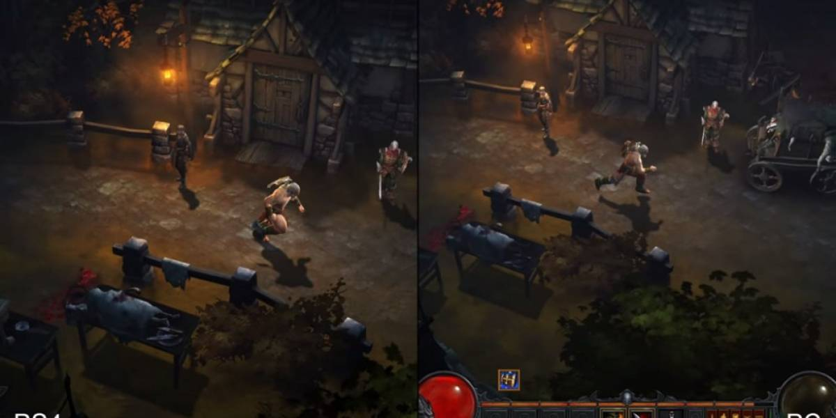 Una comparativa de Diablo III en PS4, One y PC