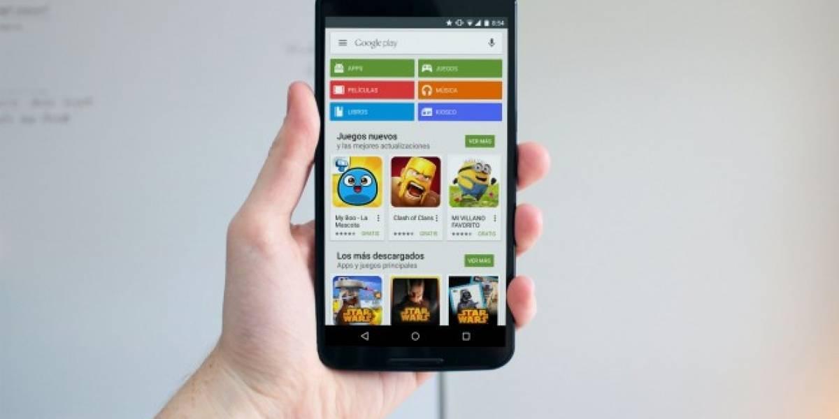 Rediseño de Google Play pondrá aplicaciones y entretenimiento por separado