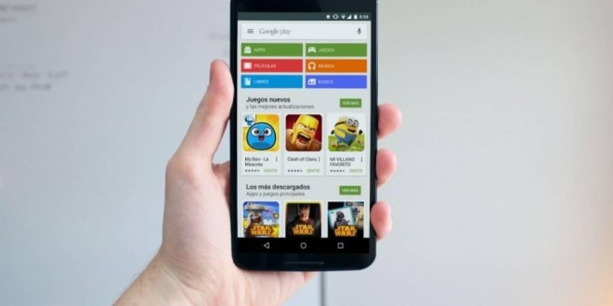 Google Play Store comienza a prepararse para Android 6.0 soportando lector de huellas
