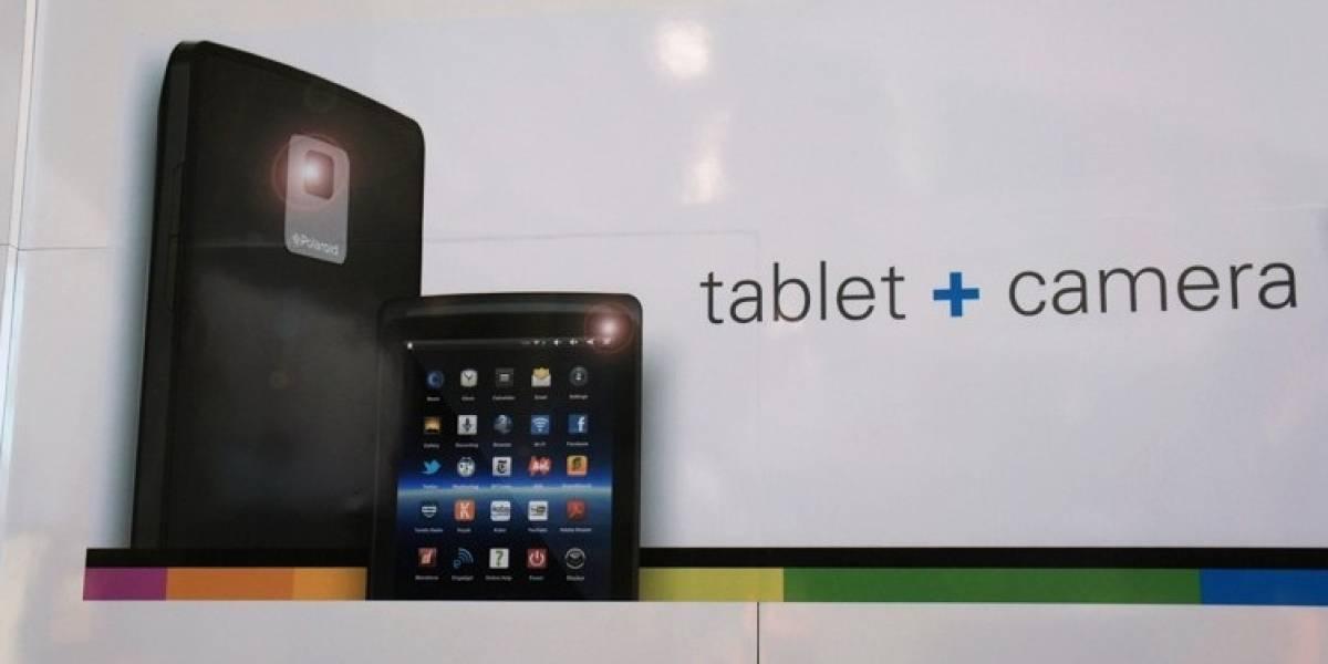 CES 2012: Polaroid lanzaría una tablet con doble cámara basada en Android