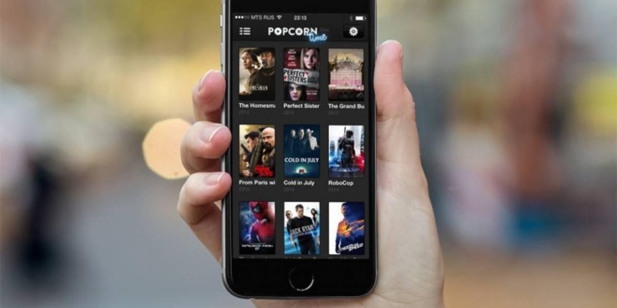 PopCorn Time lanza su versión para iOS