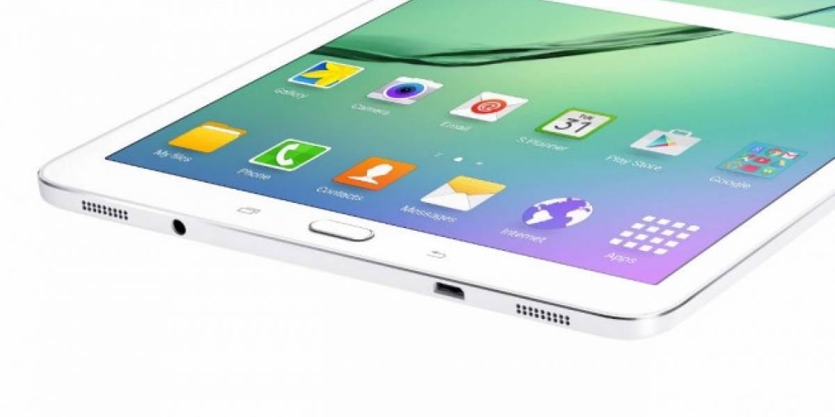 Se filtran imágenes y especificaciones de Galaxy Tab S3 8.0