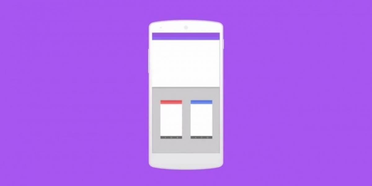 Android 6.0 se muestra como un concepto de multiventanas con un bonito diseño