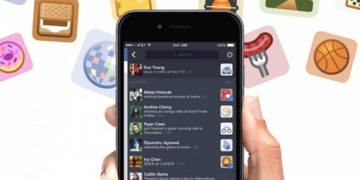 Facebook está probando una barra lateral con mensajes fuera de línea en su aplicación