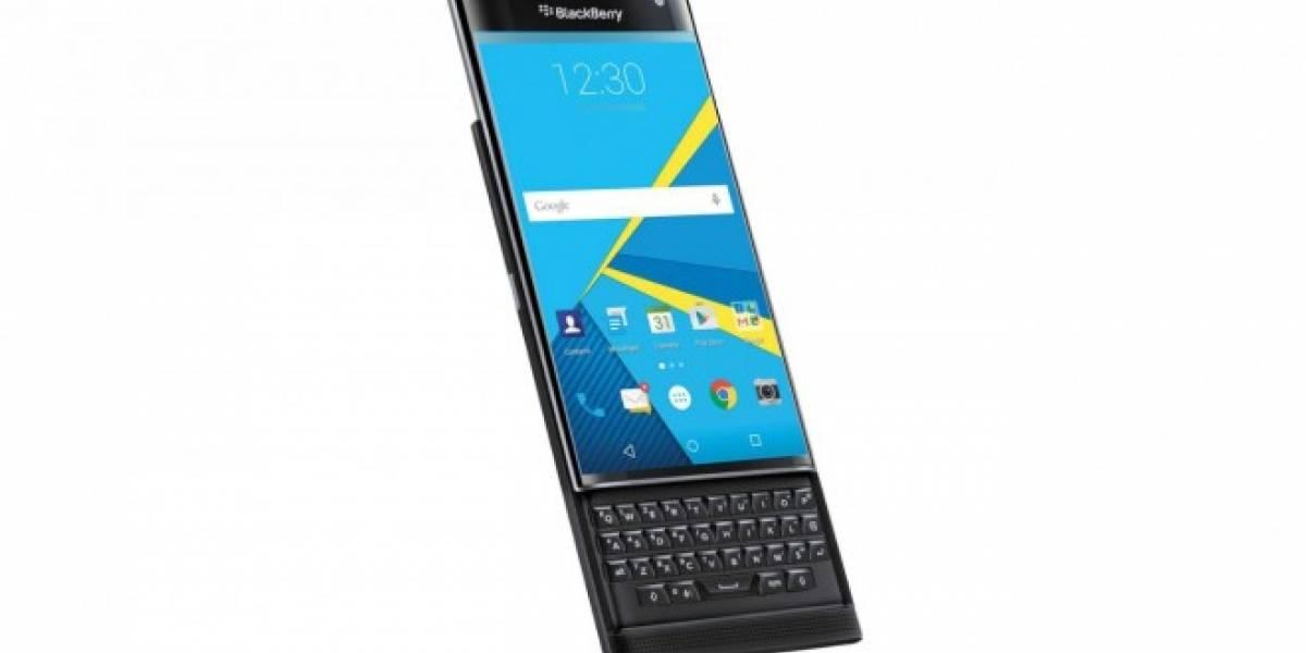 BlackBerry Priv sería el nombre del BlackBerry Venice con Android Lollipop