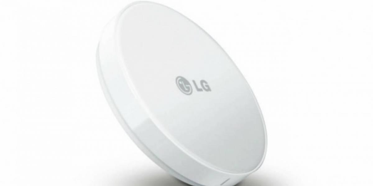 LG trabaja en nuevo sistema para carga inalámbrica