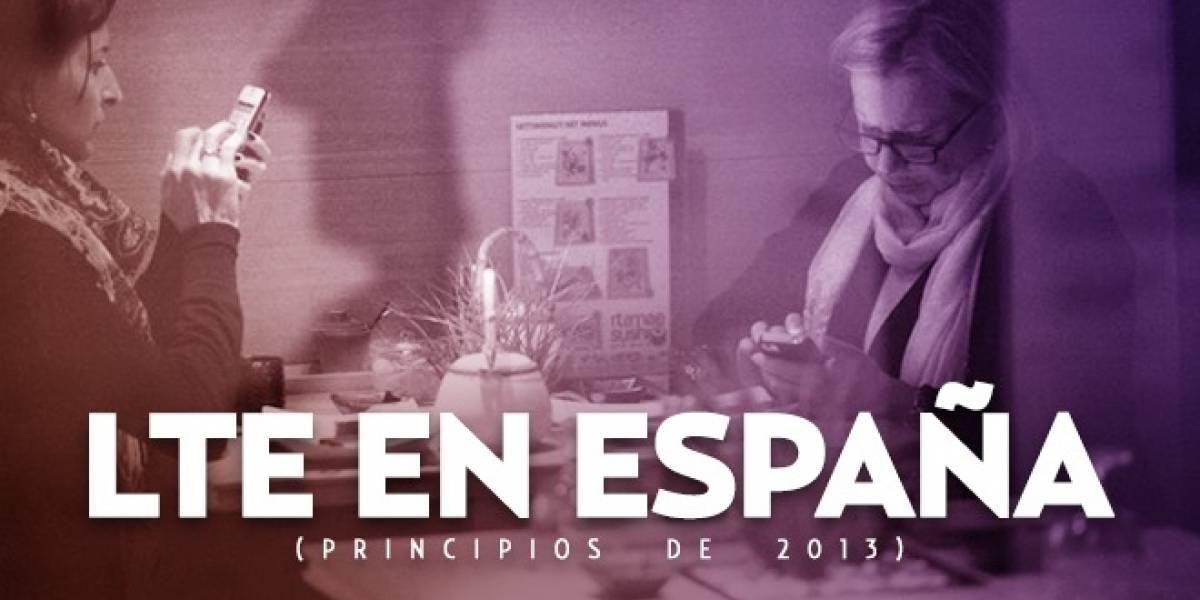 Estado del LTE en España (principios 2013)