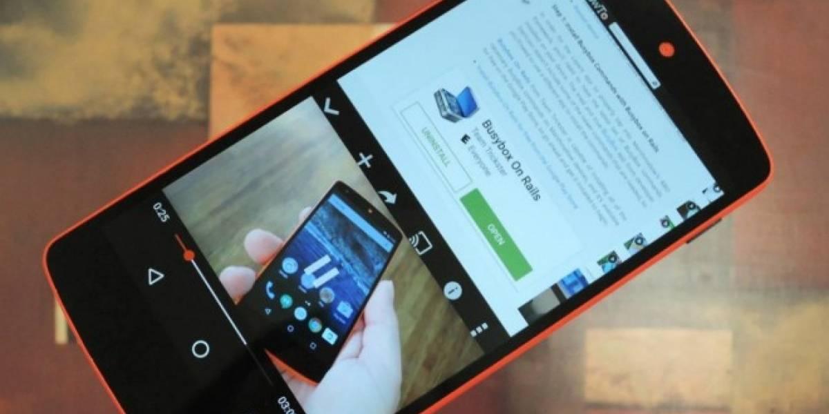 Google está trabajando en la multiventana para Android N