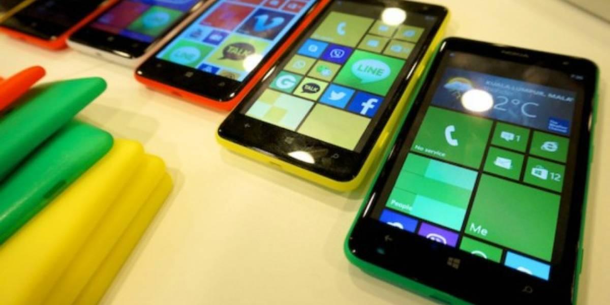 Microsoft no lanzará más de 6 teléfonos por año
