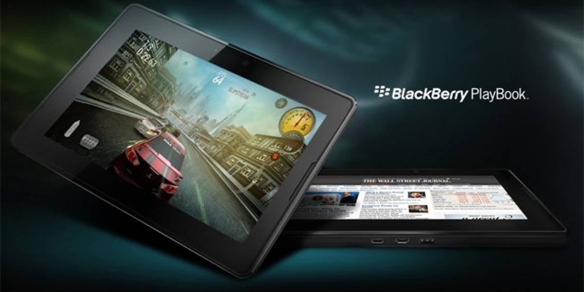 Se han fabricado y entregado más de 500 mil tablets BlackBerry PlayBook