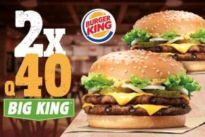 Big King 2x40 Burger King