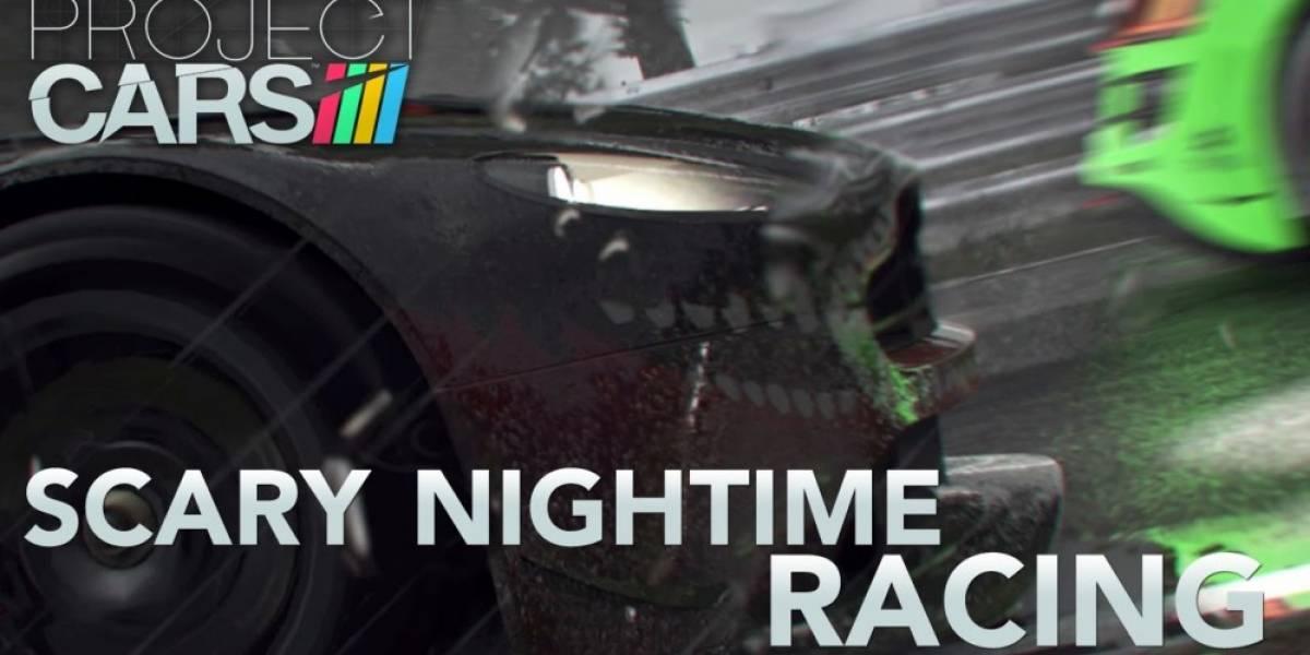 Project Cars recibe nuevo tráiler que nos muestra aterradoras condiciones de manejo
