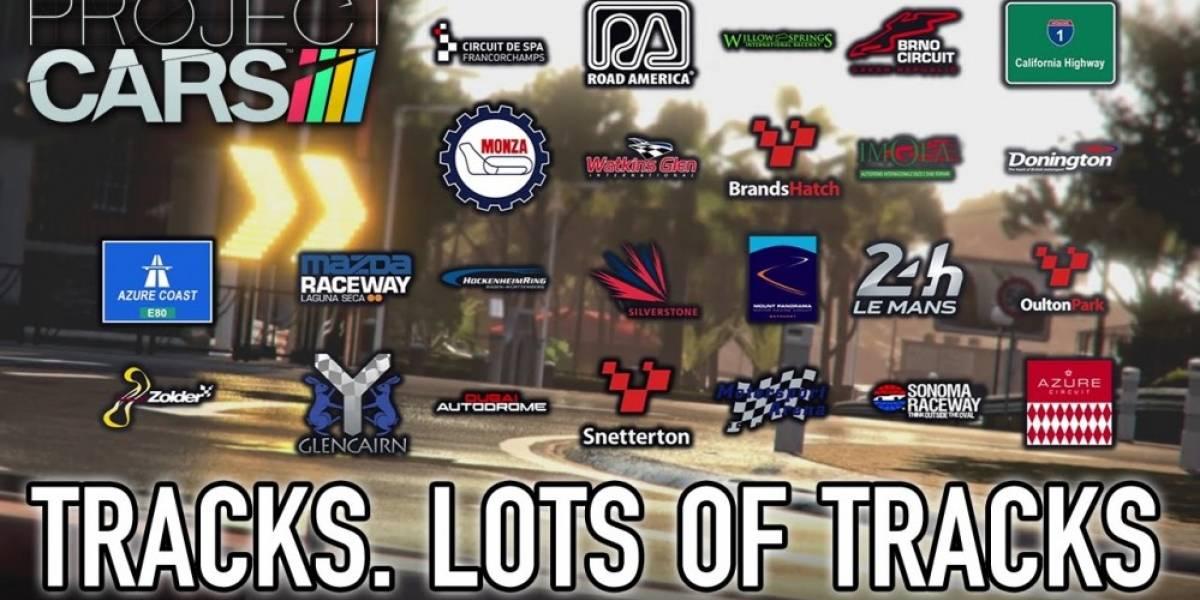 Nuevo tráiler de Project CARS nos muestra los circuitos del juego