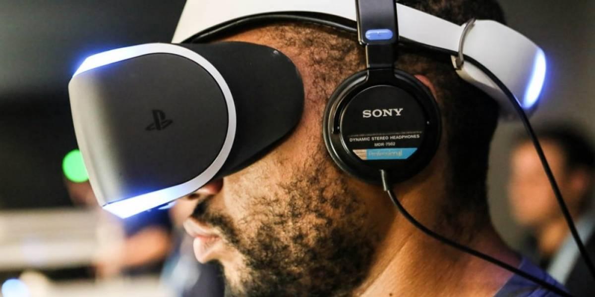 Sony mostrará su casco de realidad virtual en marzo