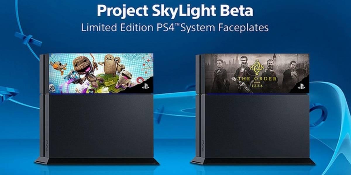 Sony anuncia tapas intercambiables para personalizar la consola PlayStation 4