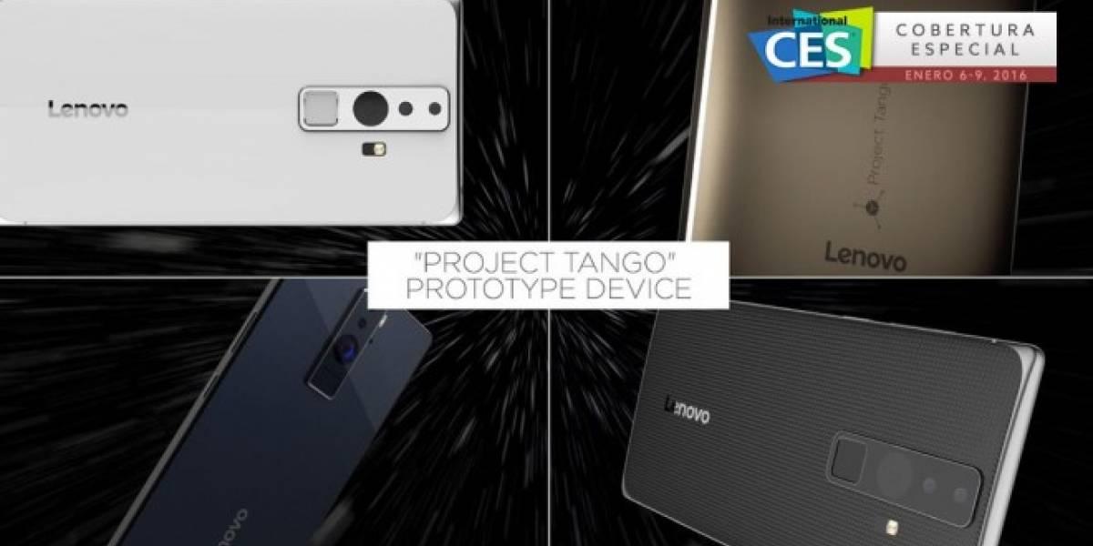 Google y Lenovo forman alianza para crear smartphone de Project Tango