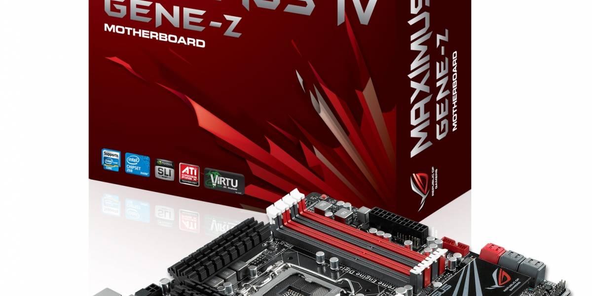 Asus lanza su linea de tarjetas madres Z68 (incluyendo series ROG)
