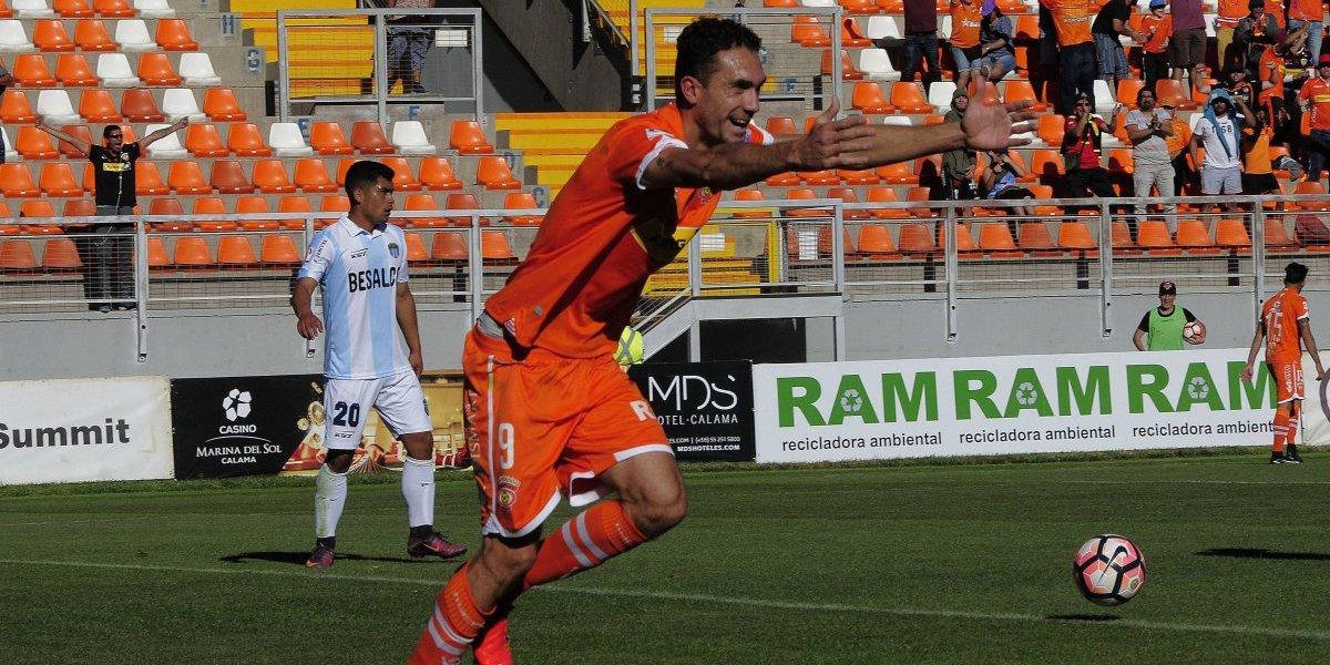Los goles de Lucas Simón serán chilenos: delantero de Cobreloa inició proceso de nacionalización
