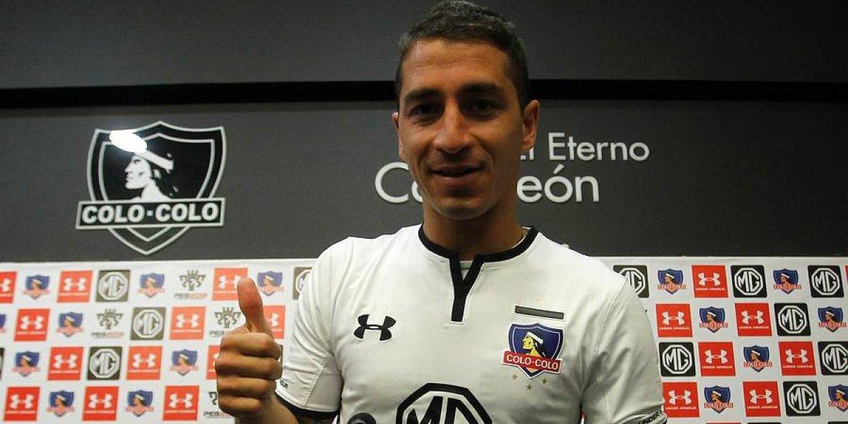 """Carlos Carmona está feliz en Colo Colo: """"Hay jugadores y plantel para soñar en la Libertadores"""""""