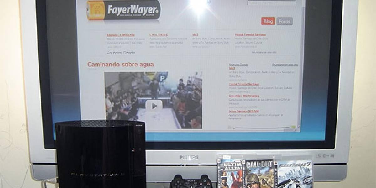 PlayStation 3 en Chile