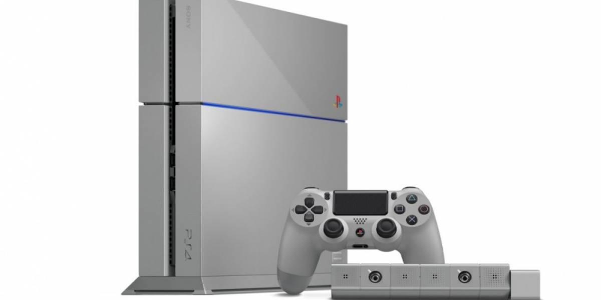 Pagan 15 mil dólares por consola PS4 Edición Limitada de 20 Aniversario