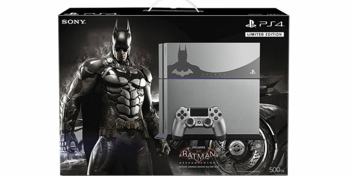 Los bundles de PS4 con Batman: Arkham Knight sí llegarán a América