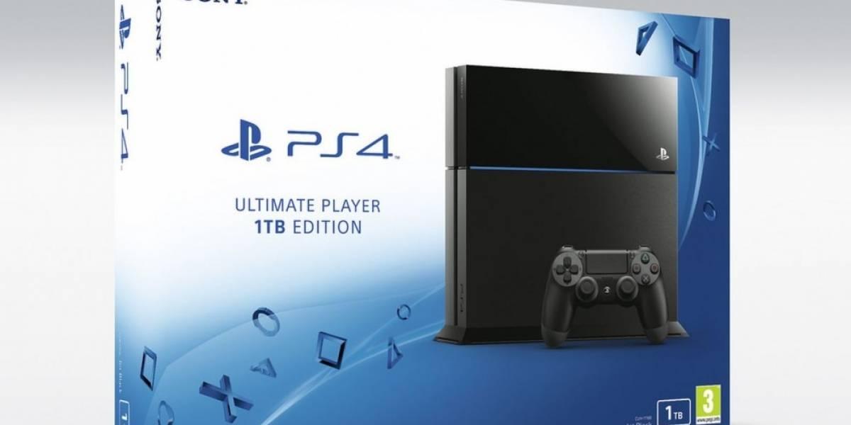 Sony anuncia PlayStation 4 de 1TB y un nuevo modelo más ligero