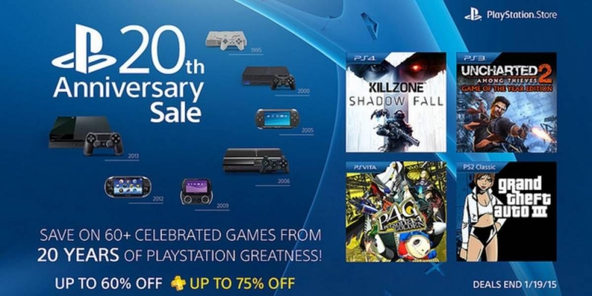 Sony arranca venta especial de aniversario en PlayStation Store