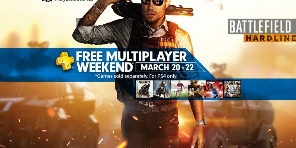 PS4 tendrá multijugador gratis durante el fin de semana