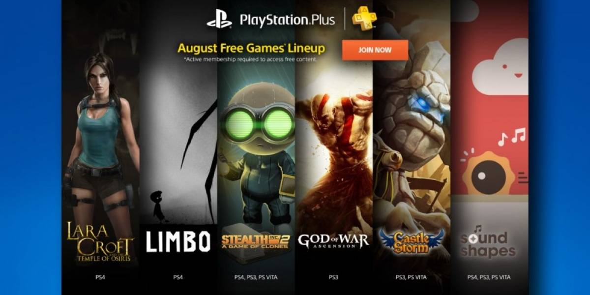 Sony anuncia los juegos de PlayStation Plus para agosto