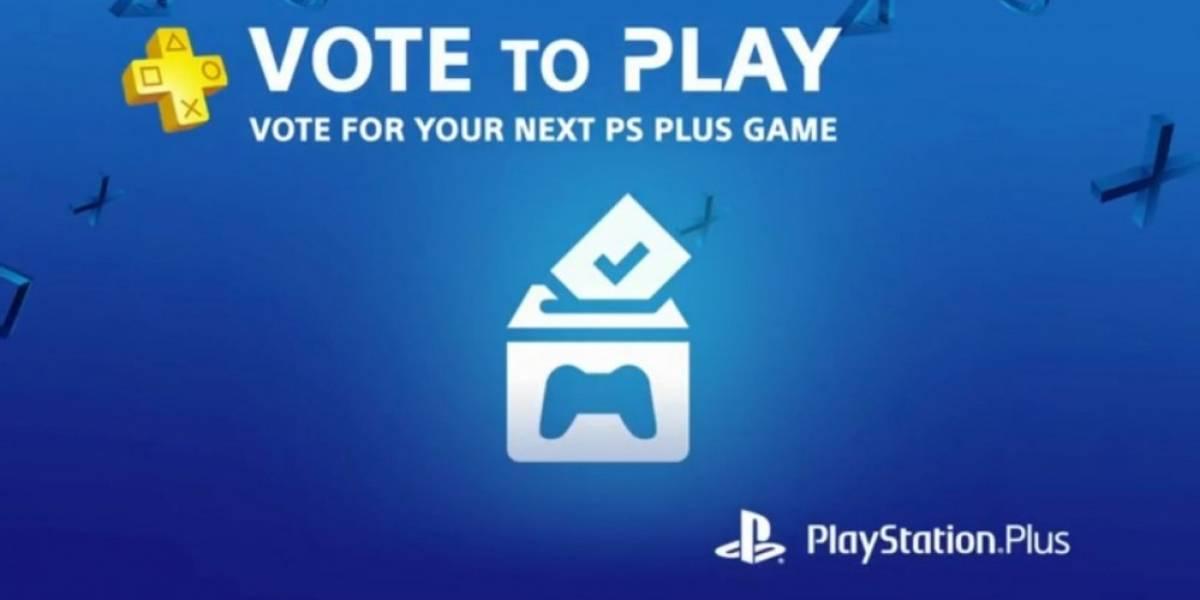 Sony permitirá que los jugadores voten por uno de los juegos gratuitos de PS Plus