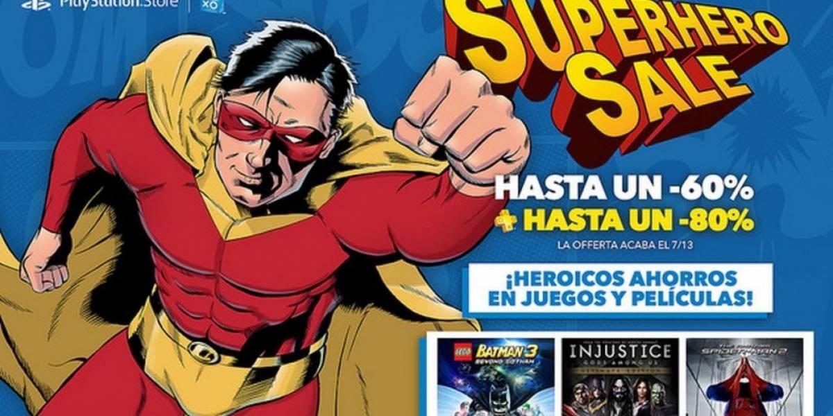 Ofertas Superpoderosas en PlayStation Store