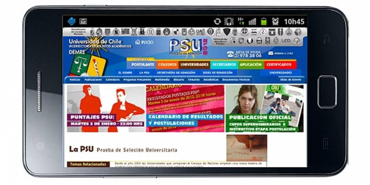 Chile: Si rendiste la PSU podrás recibir tu puntaje vía SMS hoy a las 23 horas