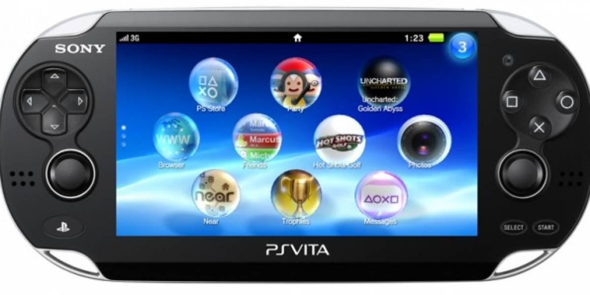 PlayStation Vita es la apuesta de Sony en los portátiles