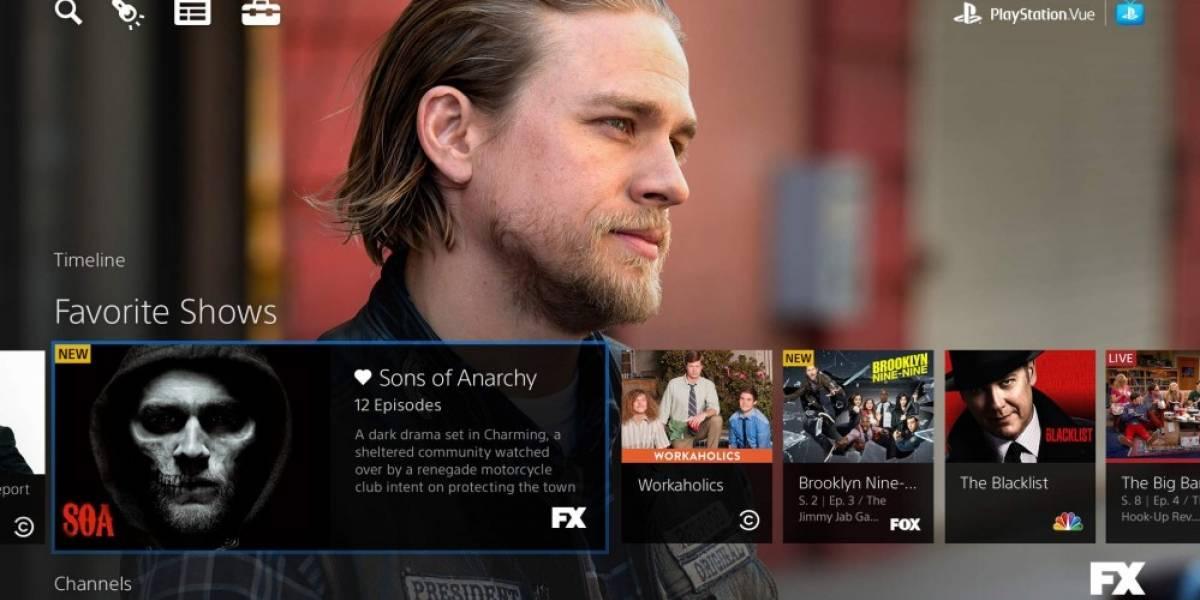 Sony anuncia PlayStation Vue, su servicio de TV cable