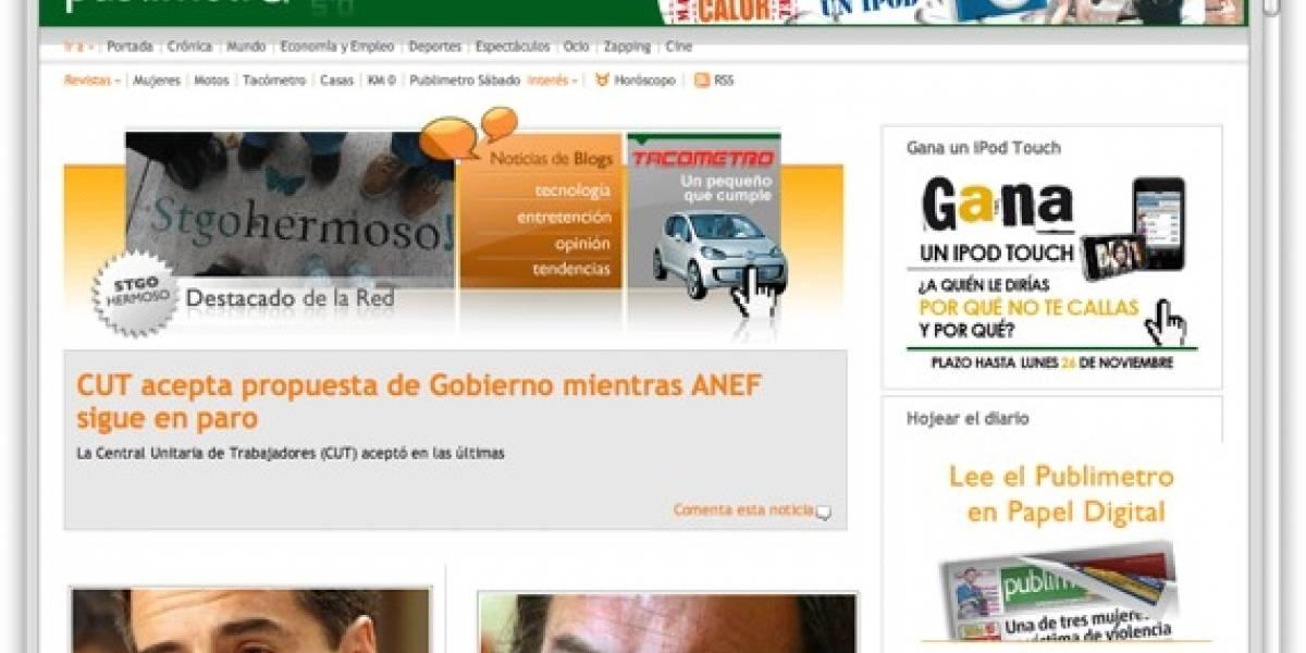 Publimetro libera sus contenidos en Internet con Creative Commons
