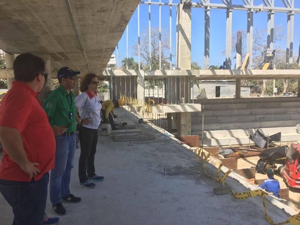 Delegación de Puerto Rico en visita en Barranquilla. Juegos Centroamericanos y del Caribe