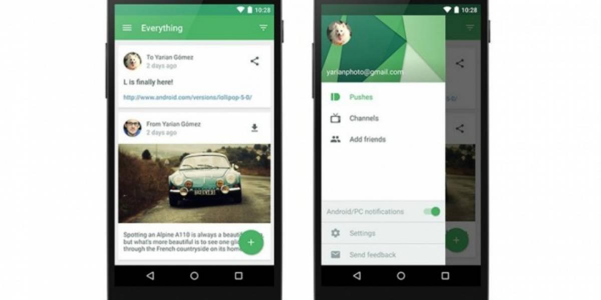 Pushbullet ahora ofrece cifrado de punto a punto para notificaciones, SMS y copiado universal