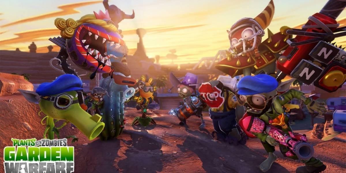 Así celebra Plants vs Zombies: Garden Warfare su lanzamiento en PlayStation