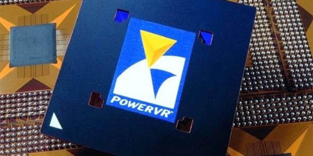 Se lanza la nueva versión del chip gráfico PowerVR para equipos móviles