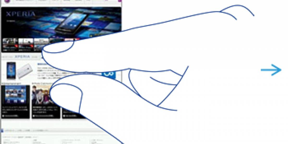Actualización para dotar de capacidades multitáctiles al Xperia X10 llega primero a Japón