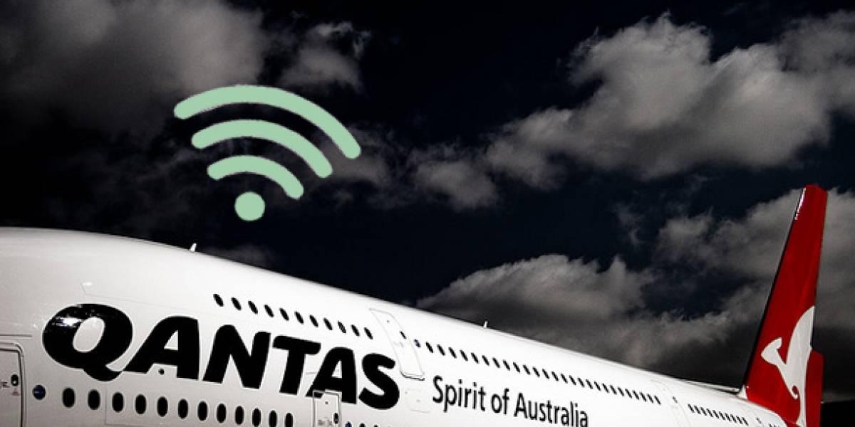 Qantas comienza pruebas de servicio de Wi-Fi entre Australia y Estados Unidos