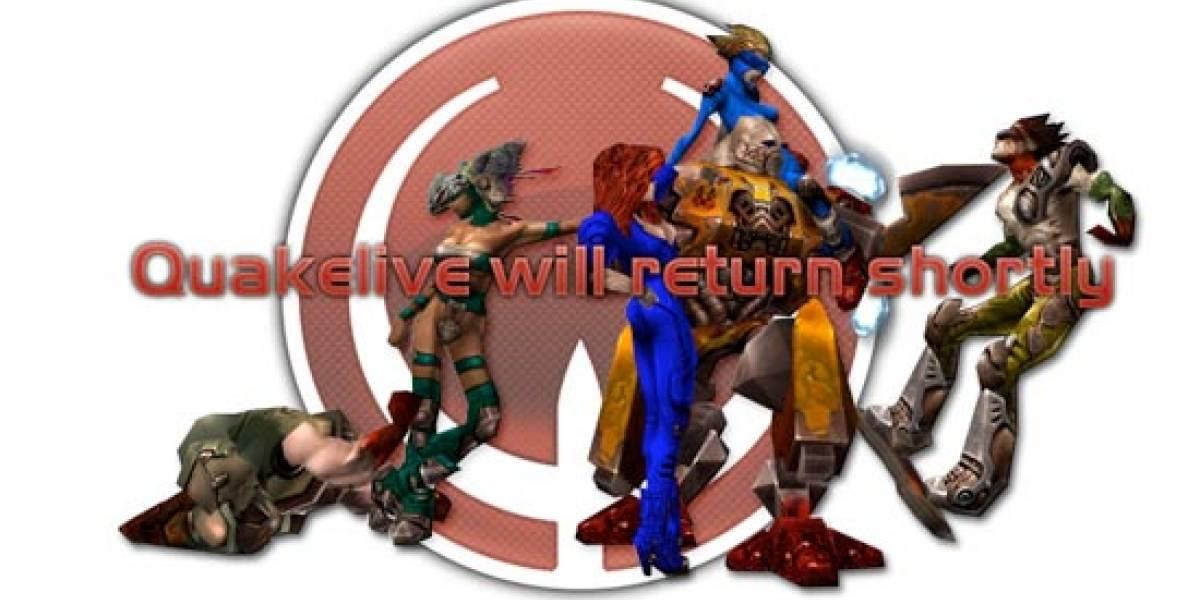 Quake Live se vuelve una pesadilla